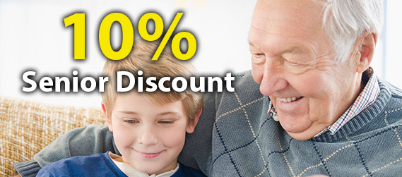 10% Plumbing Senior Discount when you call a Point Piper plumber